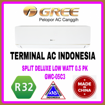 AC SPLIT GREE 0.5 PK ( GWC-05C3 ) DELUXE LOW WATT R32 CHINA
