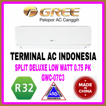 AC SPLIT GREE 0.75 PK ( GWC-07C3 ) DELUXE LOW WATT R32 CHINA