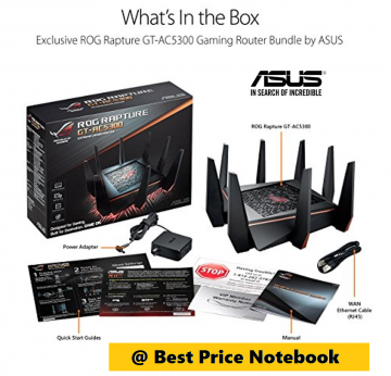 ASUS Wireless Router ROG GT-AC5300