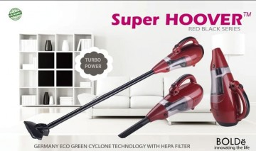 BOLDe Vacuum & Blow Cleaner Super Hoover Cyclone - RED EDITION