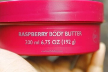 THE BODY SHOP RASPBERY BODY BUTTER 200ML ORIGINAL