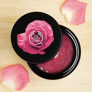 THE BODY SHOP BRITISH ROSE BODY SCRUB 250ML ORIGINAL