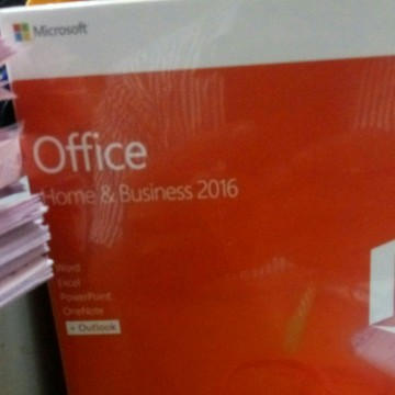 Microsoft Office Home And Businiss 2016